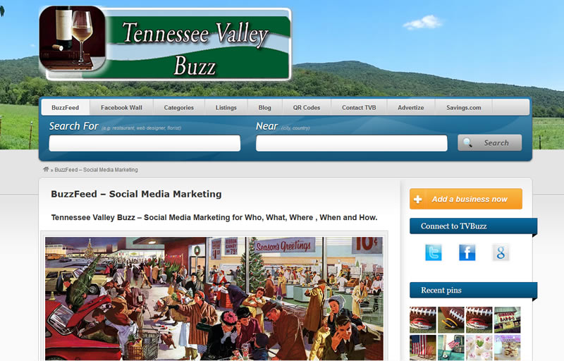 Tennessee Valley Buzz